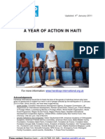 A Year of Action in Haiti - Handicap International