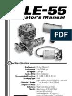 DLE 55 g0055-Manual