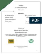 Final VSS Report by Anjaney Kr & Jaya Sharma