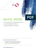 Quantifi Whitepaper - Challenges in Implementing a Counter Party Risk Management Process