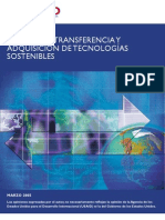 Manual Transferencia de tecnologia sostenible