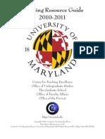 Teaching Resource Guide - 2010-2011