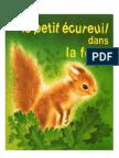Lecture Le petit écureuil dans la forêt