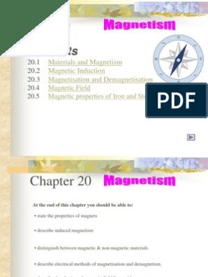 Magnetism Slides | Magnet | Magnetism