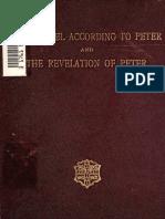 James, Robinson. The Gospel according to Peter