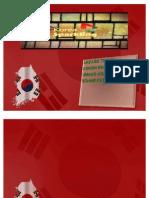Korea Sparkling (f) Tourism Ppt