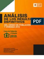 ANÁLISIS DE RESULTADOS DEFINITIVOS DEL CENSO 2010 PARA CHIAPAS
