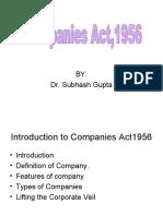 001 Companies Act Intro