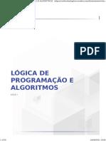 Lógica de Programação e Algoritmos