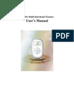 TK101 User Manual - Protocol