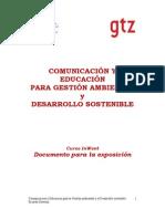 Comunicacion ambiental-GTZ
