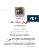 12. Chapter 1 - The Love of God