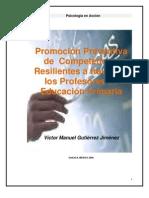 Promociòn  de  Resiliencia en Profesores de Educ. Primaria_Victor Gutierrez