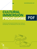 Cultural Immersion June 9th &10th