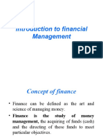 1.Introduction to Financial Management