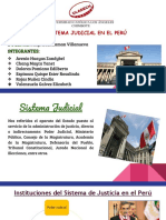 Sistema Judicial en el Perú