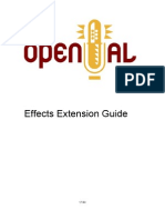 Effects Extension Guide