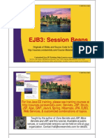 EJB3 2 Session Beans