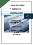 Insurance Sector Final Report