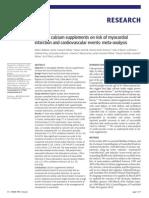 British Medical Journal - Calcium Study-Reid