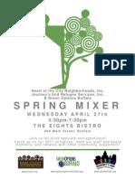 Spring Mixer Poster 2011