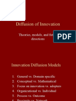 Diffusion of Inovation Ppt