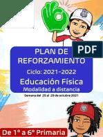 7. Plan de Reforzamiento Ciclo 2021-2022 (Semana Del 25 Al 29 de Octubre)