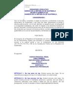 Código Procesal Penal DCX 51-92