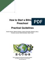 Guidelines to Bilingual Preschool Implementation e