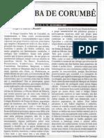 TABA DE CORUMBÊ  ANO IV – N. º 02  – SETEMBRO/ 2007