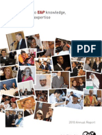 Society of Petroleum Engineers 2010 Annual Report