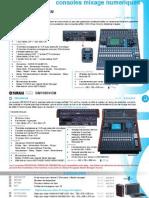 CATA 2011 2 SON Consoles Mixage Numeriques