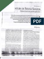 Boaventura de Sousa Santos - Democracia Es Participacion