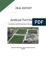 Dep Artificial Turf Report