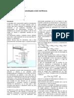 Experimento 2 - Calorimetria, Calor de formação e Calor de mistura