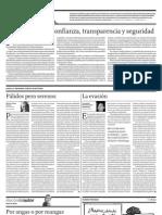 El Comercio, 19 de abril del 2011, página A4.