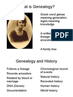 Genealogy Slideshow