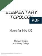 Topology Text