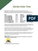2010 Alaska Solar Tour