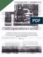 El Capitalismo Senil - Samir Amin