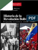 Historia de La Revolucion Bolivar Ian A