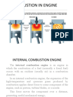 Combustion in Engine