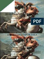 Idade Contemporânea a Era Napoleonica