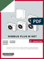 Nimbus Plus m Net - Libretto Installatore Utente 10_2020