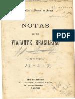 Notas de Um Viajante Brasileiro - Viagens Pela Europa