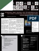 Congreso Internacional de Endodoncia. España. Octubre