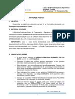 ATIVIDADE PRATICA 2021 - ORIENTACOES E EXERCICIOS MODB