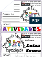 1 AEE Escrita Do Nome Maria Eduarda