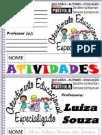 1 AEE Escrita Do Nome Adria Rebeca Nunes Dos Santos
