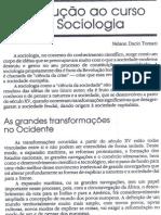 Introdução ao curso de Sociologia - Nelson Dacio Tomazi